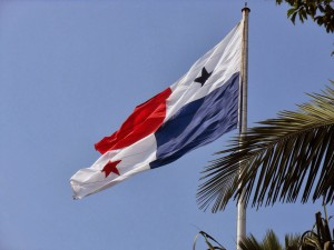 Panama Flag on Ancon Hill