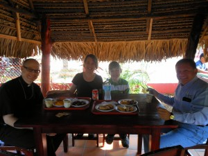 Panamanian Breakfast in a Ranchito