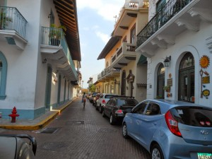 Street of Old Panama City