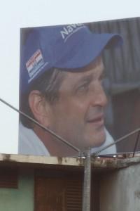 Campaign Billboard of Juan Carlos Navarro