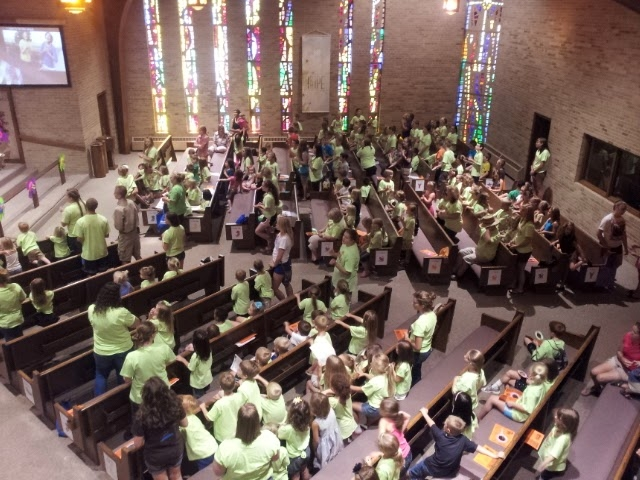 Vacation Bible School 2014 at Faith, Grand Blanc