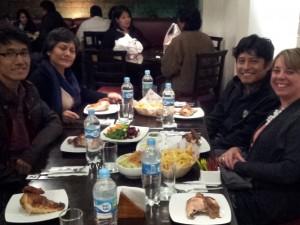 Dinner with Team