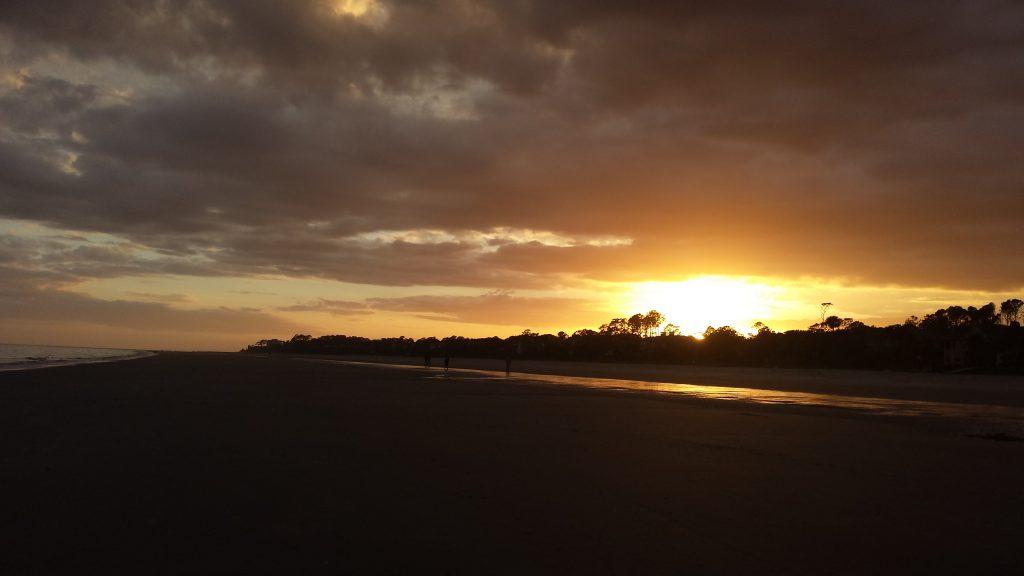 Sunset at Hilton Head Island 1-1-2017