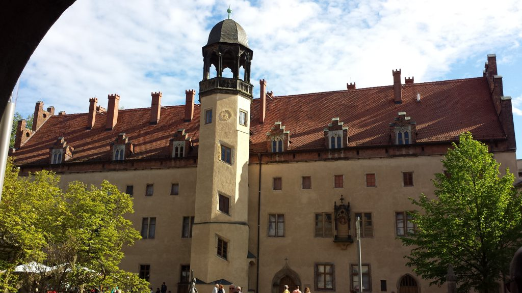 Martin Luther's Home in Wittenburg, Germany